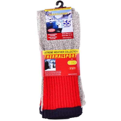 Wholesale Thermal Crew Sport Sock Size 10-13