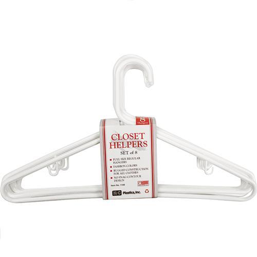 Wholesale Adult 8 Pack Hangers Premium