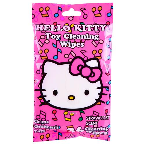 Wholesale Hello Kitty Toy Cleaning Wipes Strawberry Scent
