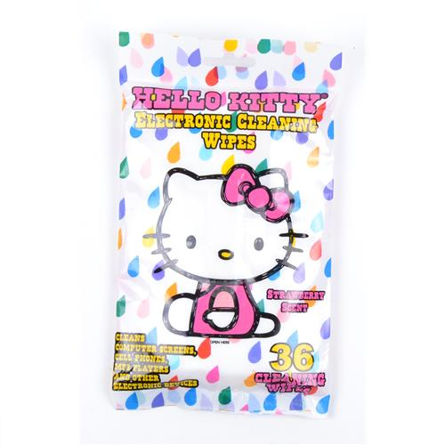 Wholesale Hello Kitty Electronic Cleaning Wipes Strawberry S