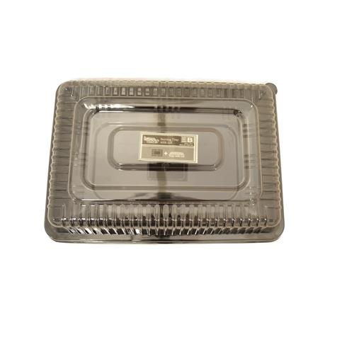 Wholesale PLASTIC SERVING TRAY & LID 10x