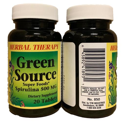 Wholesale HERBAL THERAPY GREEN SOURCE 20CT