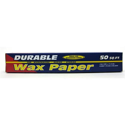 Wholesale Durable Wax Paper 12x50 ft.