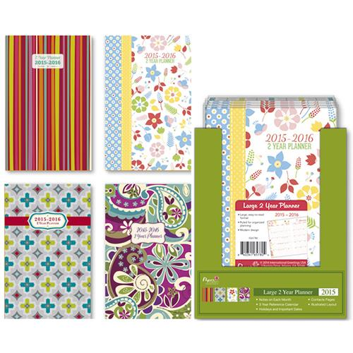 "Wholesale 2015 Monthly 2-Yr Fashion Planner 5.25"""" x 8.25"""""