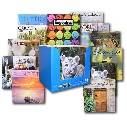 Wholesale 2016 16 Month Wall Calendar CD