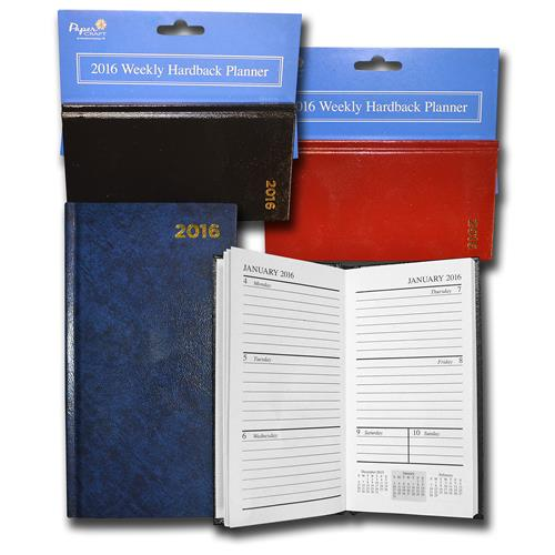 Wholesale 2016 Weekly Hardback Planners