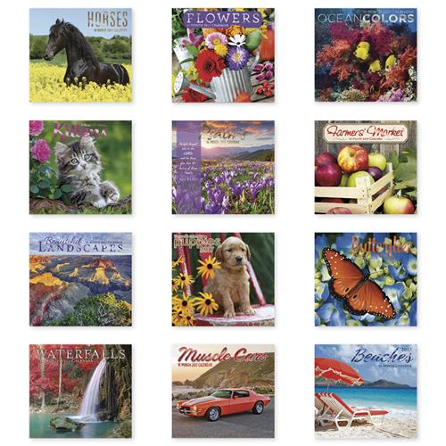 Wholesale 16 MO. WALL CALENDAR 2017 C/D