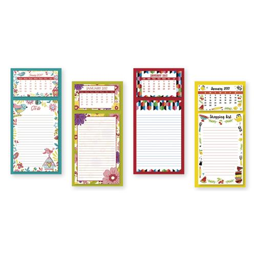 Wholesale 12 MO. MAGNETIC LIST 60 SHEET