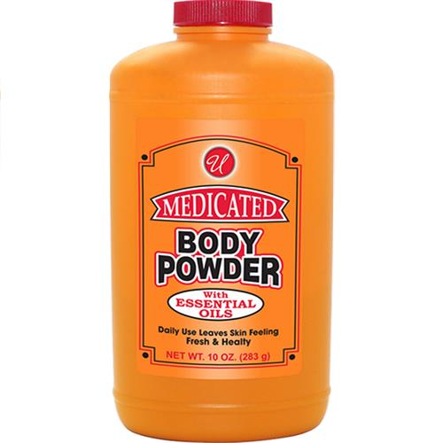 Wholesale 10 OZ MEDICATED BODY POWDER