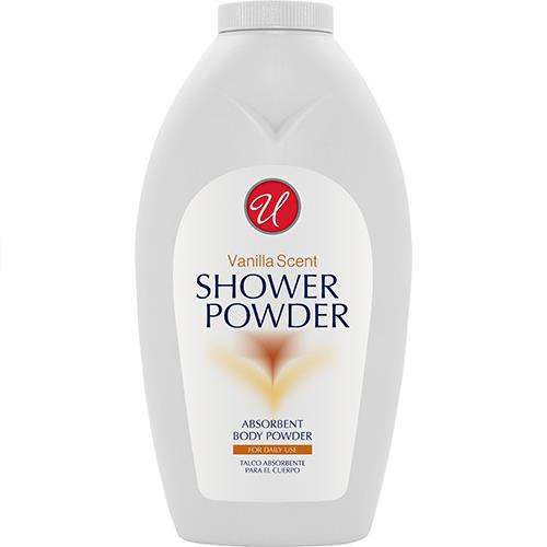 Wholesale Vanilla Scented After Shower Body Powder - 13oz  Feel fresh!