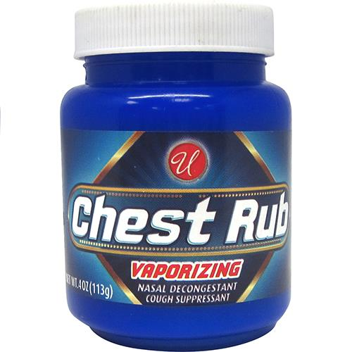 Wholesale U Vaporizing Chest Rub 4oz