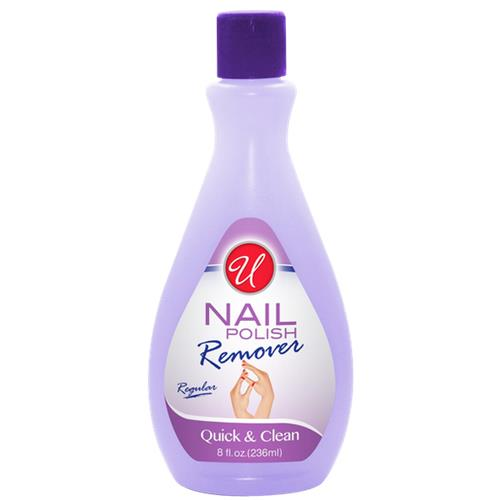 Wholesale U Nail Polish Remover Regular 8 oz