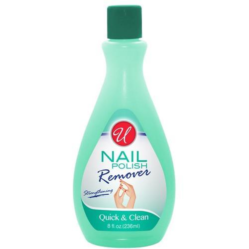 Wholesale U Nail Polish Remover Regular 8 oz