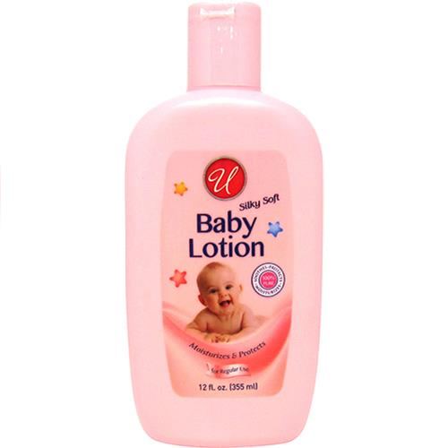Wholesale U Baby Lotion - Soft & Smoothing  12oz