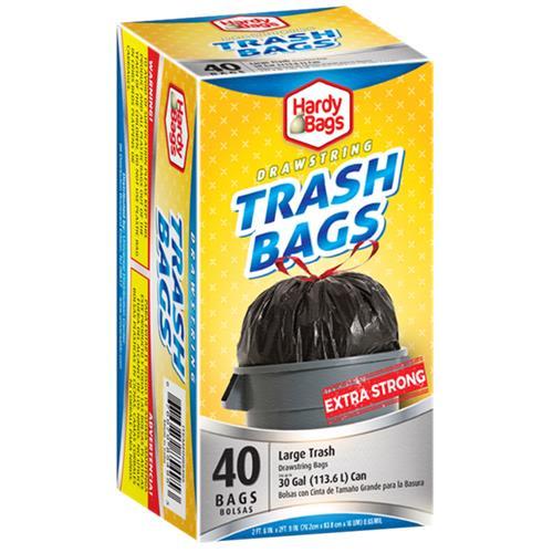 Wholesale 30 Gallon Drawstring Bag Black