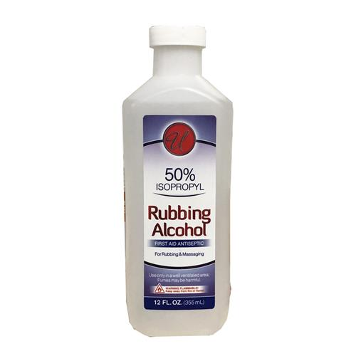 Wholesale 12oz 50% RUBBING ALCOHOL