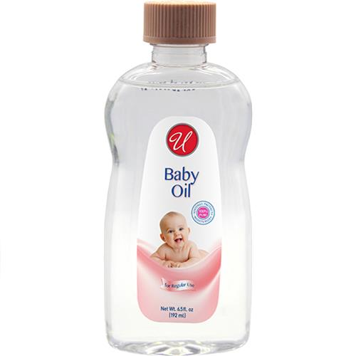 Wholesale U Baby Oil, Regular Scent 6.5oz