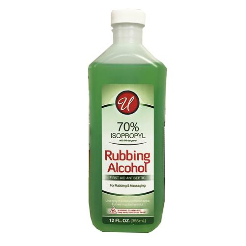Wholesale 12oz 70% RUBBING ALCOHOL WINTE