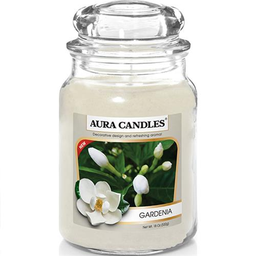 Wholesale 18oz Jar Candle Gardenia