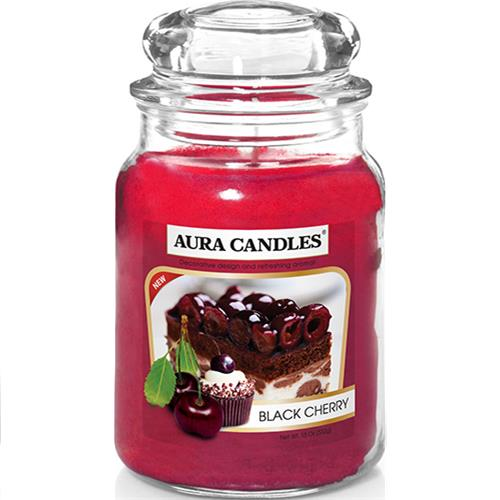 Wholesale 18CT Jar Candle Black Cherry