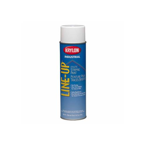 Wholesale KRYLON INDUSTRIAL LINE-UP ATHLETIC STRIPING PAINT OIL EXTERIOR WHITE 18oz
