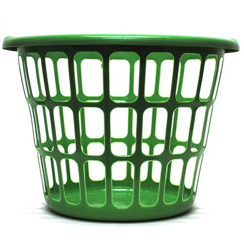 Wholesale Round Laundry Basket 17x17x12 Assorted Colors