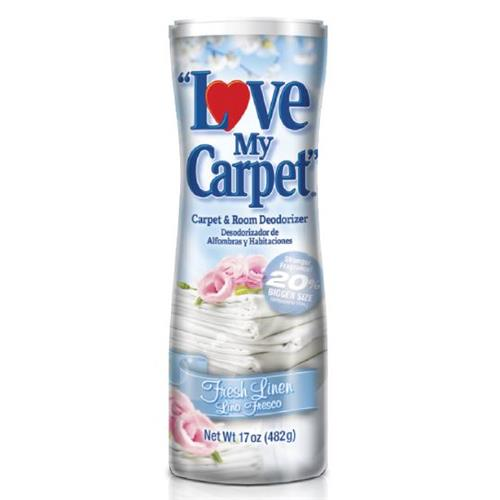 Wholesale Love My Carpet fRESH lINEN 17 oz.