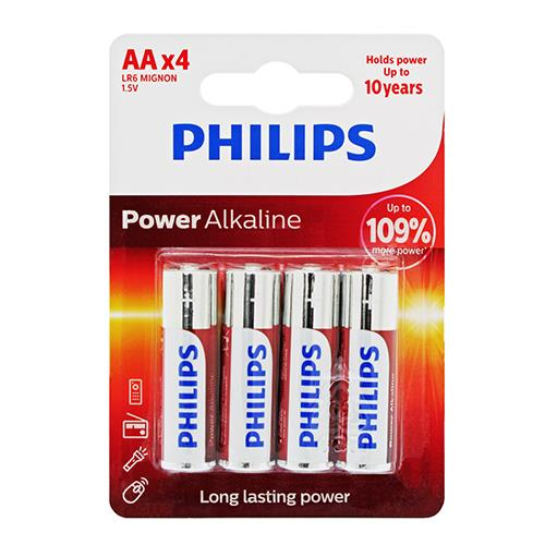 Wholesale 4PK AA ALKALINE BATTERIES PHIL
