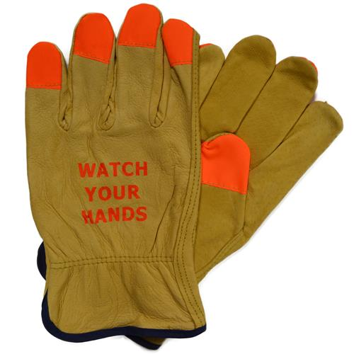 Wholesale Driver Glove, Pig, Watch Your