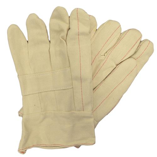Wholesale Hot Mill Glove Large White Cot