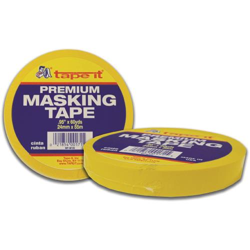 Wholesale MASKING TAPE 1x60 YARD YELLOW