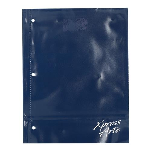 Wholesale 128PG NAVY BLUE COLLEGE RULED NOTEBOOK SPIRAL-LESS