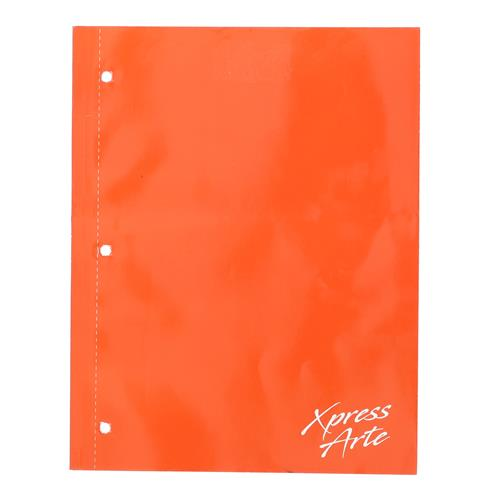 Wholesale 128PG ORANGE COLLEGE RULED NOTEBOOK SPIRAL-LESS