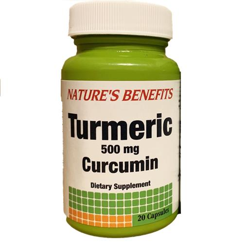Wholesale NATURES BENEFITS TUMERIC 20ct