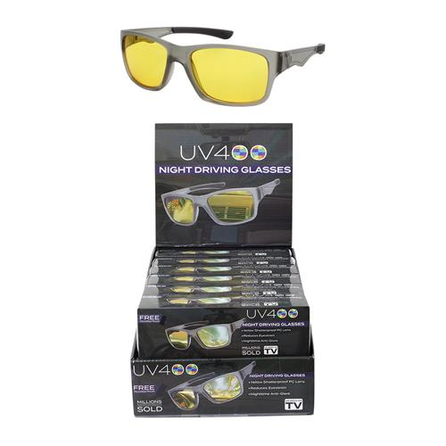 Wholesale NIGHT DRIVING GLASSES WITH POUCH