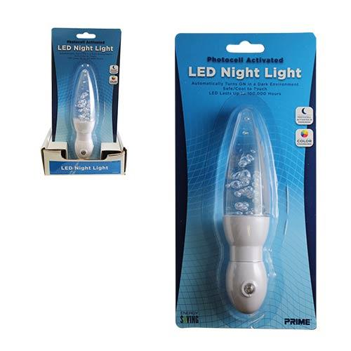 Wholesale COLOR CHANGING AUTOMATIC LED NIGHT LIGHT