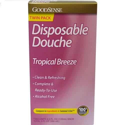 Wholesale Good Sense Disposable Douche Tropical Breeze Scent Twin Pack (Summer's Eve)