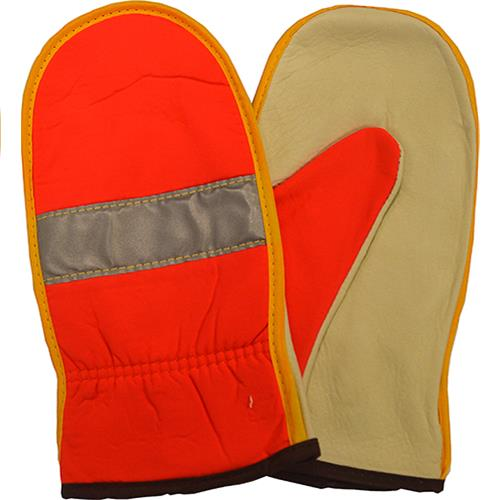 Wholesale HI-VIZ SAFETY MITTLEN MEDIUM -