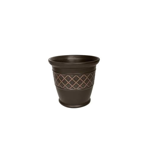 "Wholesale Z22"""" PLASTIC PLANTER BRONZE L"