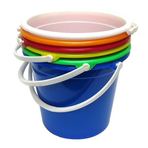 Wholesale Bucket w/Plastic Handle 10 QT Assorted Bright Colo