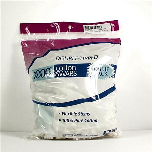 Wholesale 1000ct Cotton Swabs Bag