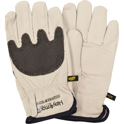 Wholesale Cut Glove, Steel Leather III,