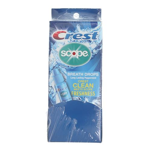 Wholesale CREST SCOPE BREATH DROPS COUNTER DISPLAY 50CT