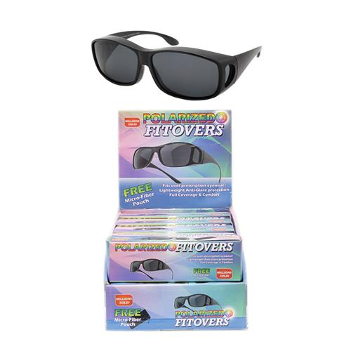 Wholesale POLARIZED FITOVER SUNGLASS WITH POUCH