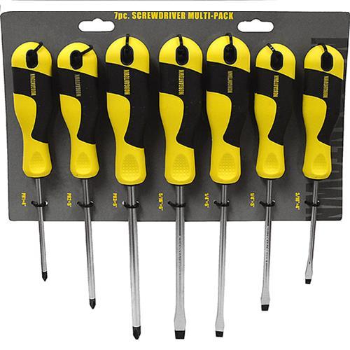 Wholesale 7pc SCREWDRIVER MULTI-PACK