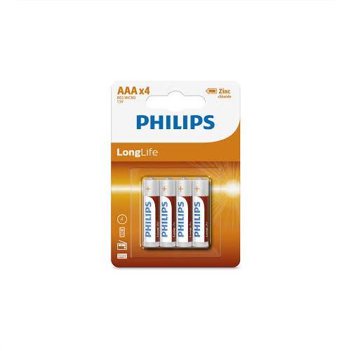 Wholesale Phillips AAA Super Heavy Duty Batteries 4 ct.