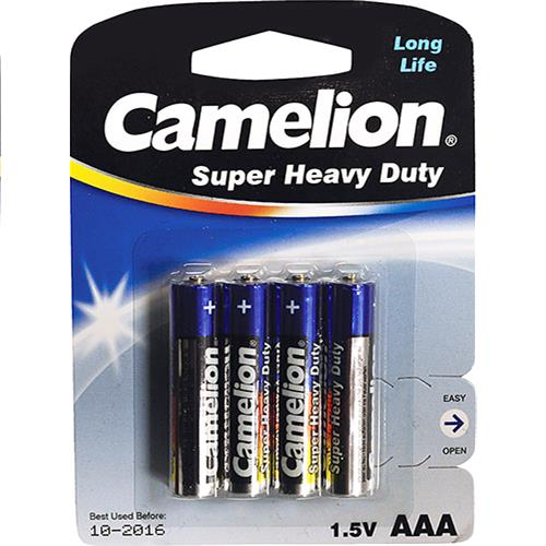 "Wholesale Camelion Super Heavy Duty ""AAA"" Battery Blister Card 4 pack"