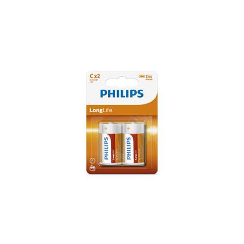 Wholesale Phillips Heavy Duty C Batteries 2 ct