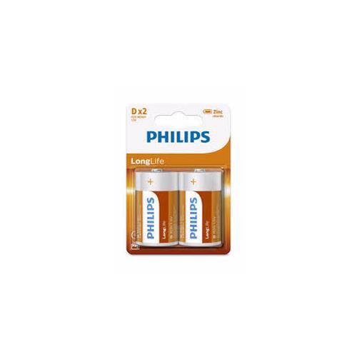 Wholesale Phillips D batteries Super Heavy Duty 2 ct