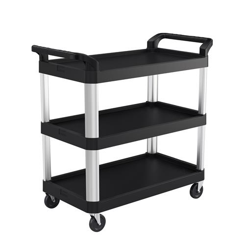 "Wholesale 3 TIER SERVICE CART 20x40"" AIR RIDE"